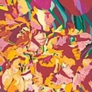 Fire Bouquet Art Print