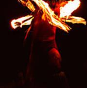 Fire Dancer 1 Art Print