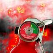 Fire Extinguisher  Art Print