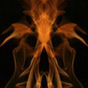 Fire Ghost Art Print