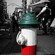 Fire Hydrant From Little Italy Art Print