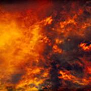 Fire In The Skies Art Print