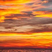 Fire In The Sky Art Print