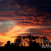 Glorious Sky Art Print
