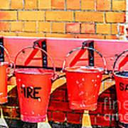 Fire Safety Art Print