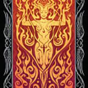 Fire Spirit V.2 Art Print