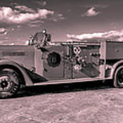 Fire Truck Too Art Print