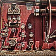 Fire Truck Valves Art Print