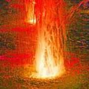 Fire Water Art Print