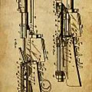 Firearm - Patented On 1907 Art Print