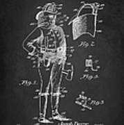 Firefighter Uniform Patent 1905 Art Print