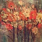 Fireflowers Art Print