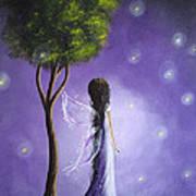 Original Fairy Art By Shawna Erback Art Print