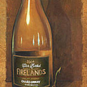 Firelands Chardonnay Art Print