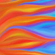 Firelight Art Print by Daina White