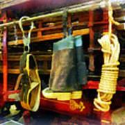 Fireman - Boots And Fire Gear Art Print