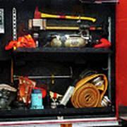 Fireman - Fire Fighting Supplies Art Print