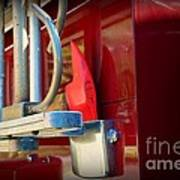 Fireman Hook And Ladder Art Print