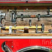 Fireman - Life Saving Tools Art Print