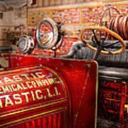 Fireman - Mastic Chemical Co Print by Mike Savad