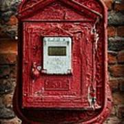 Fireman - The Fire Alarm Box Art Print
