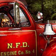 Fireman - This Is My Truck Art Print