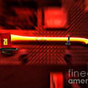 Firemen Ax Art Print