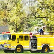 Firemen - Back At The Firehouse Art Print