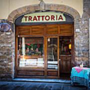 Firenze Trattoria Art Print