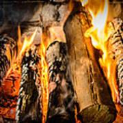 Fireplace II Art Print