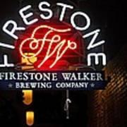 Firestone Walker Brewing Company Art Print