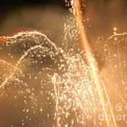Firework Shower Art Print