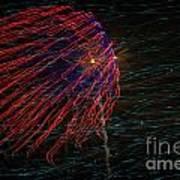 Fireworks 070414.222 Art Print