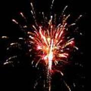 Fireworks 10 Art Print