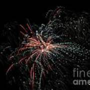 Fireworks 15 Art Print