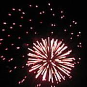 Fireworks 2 Art Print