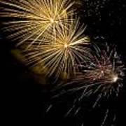 Fireworks 20 Art Print by Sandy Swanson