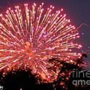 Fireworks 2014  1 Art Print