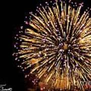 Fireworks 2014  10 Art Print