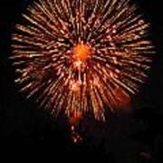 Fireworks 2014  13 Art Print
