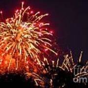 Fireworks 2014  4 Art Print