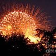 Fireworks 2014  5 Art Print