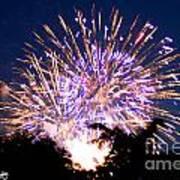 Fireworks 2014  6 Art Print