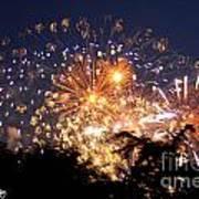 Fireworks 2014  7 Art Print