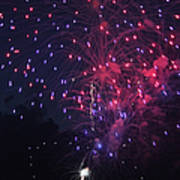 Fireworks 2014 Vi Art Print