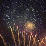 Fireworks-3027 Art Print