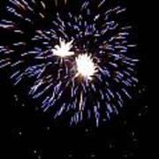 Fireworks 7 Art Print by Mark Malitz