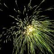 Fireworks Art Print by Akash Routh