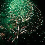 10223 Alstervergnuegen Fireworks 2013 Art Print