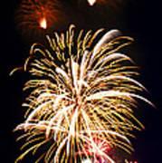 Fireworks Print by Elena Elisseeva
